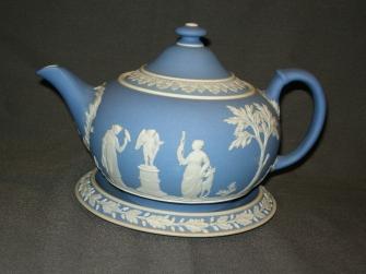 Jasperware blauw