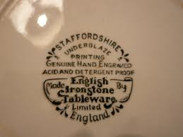 English Ironstone Tableware / EIT