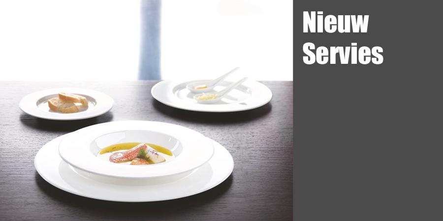 Nieuw servies