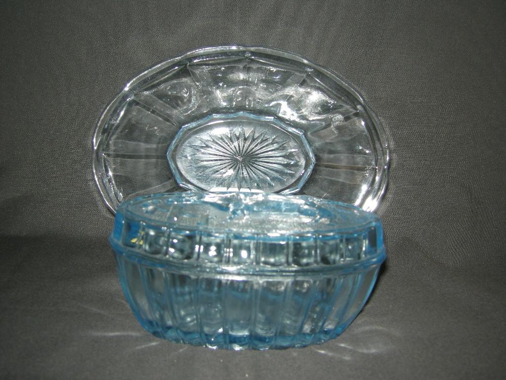 lichtblauw glas