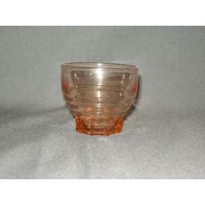 Rose glas glaasje