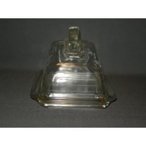 Gebruikt glas / kristal kaasstolp
