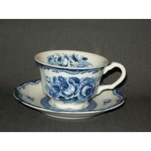 Blue Rose kop & schotel