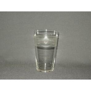 gebruikt glas rollend geld O5,5 cm.