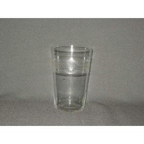 gebruikt glas rollend geld O7 cm.