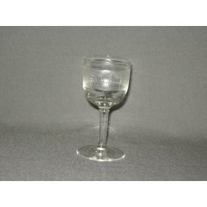 gebruikt glas rollend geld steel O4,5 cm.