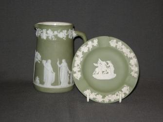 Jasperware groen