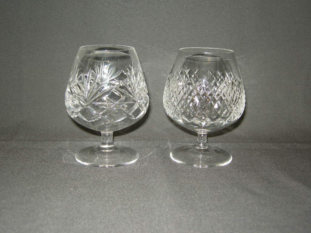 oude glazen diverse