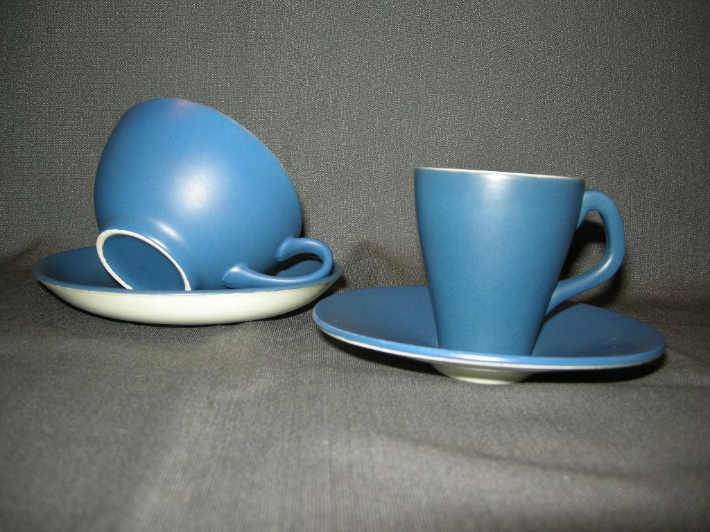 Maestro mat blauw