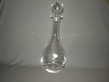 gebruikt glas / kristal karaf Bourgogne Albert Heijn