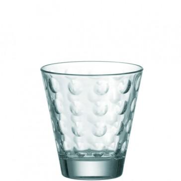 LEONARDO Ciao Optic laag glas inh 25 cl. hoogte 9 cm.