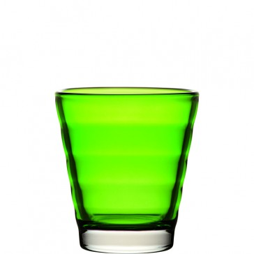 LEONARDO Wave Color laag glas groen