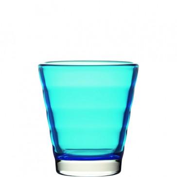 LEONARDO Wave Color laag glas lichtblauw