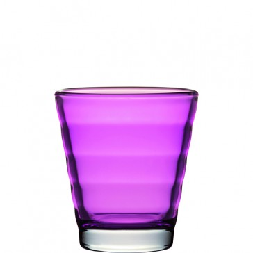 LEONARDO Wave Color laag glas violet