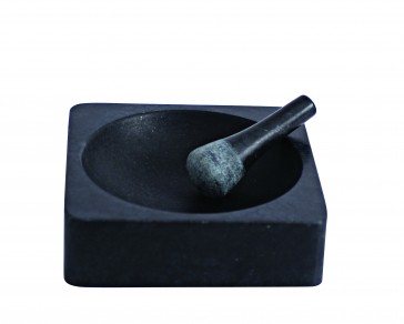 SALT & PEPPER Soho vijzel en stamper doorsnee 20,5 cm., hoogte 6 cm.