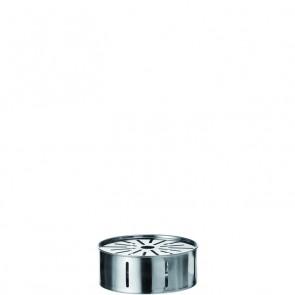 LEONARDO iCon RVS Theelicht doorsnee 14,5 cm hoogte 6 cm