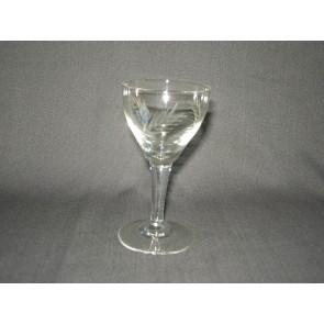gebruikt glas / kristal 012 c. 2 glaasjes O5,7 cm.
