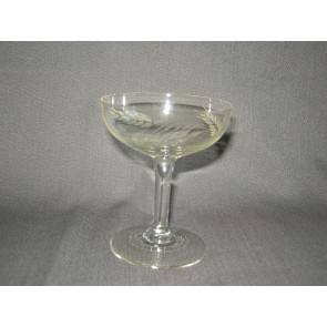 gebruikt glas / kristal 012 d. 3 coupes O7,8 cm.
