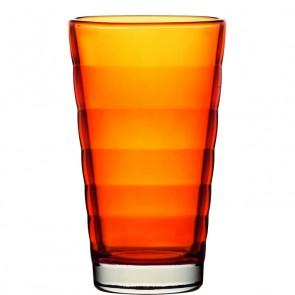 LEONARDO Wave Color longdrinkglas oranje