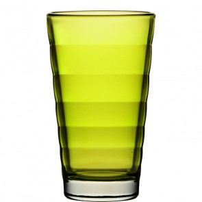 LEONARDO Wave Color longdrinkglas lime