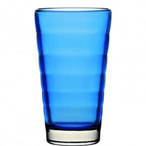 LEONARDO Wave Color longdrinkglas blauw