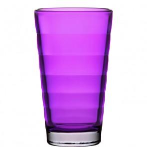 LEONARDO Wave Color longdrinkglas violet