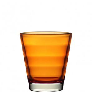 LEONARDO Wave Color laag glas oranje
