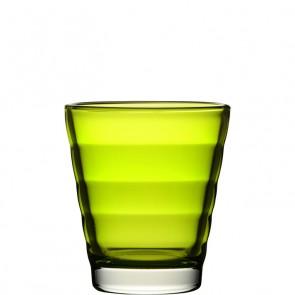 LEONARDO Wave Color laag glas lime