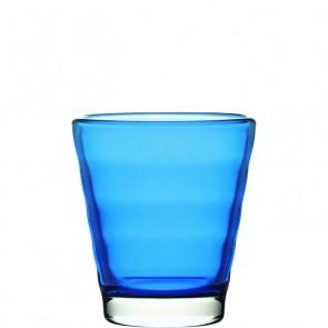 LEONARDO Wave Color laag glas blauw