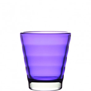 LEONARDO Wave Color laag glas paars