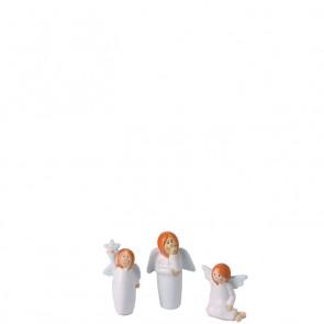 LEONARDO Julika set van 3 engeltjes hoogte 6 cm