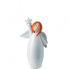 LEONARDO Julika staande engel met ster hoogte 20 cm