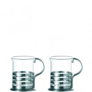 LEONARDO Balance  set van 2 theeglazen hoogte 10 cm