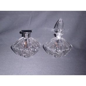 Gebruikt glas - kristal 28. parfumset