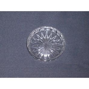 Gebruikt glas / kristal onderzetters 02. 12 stuks