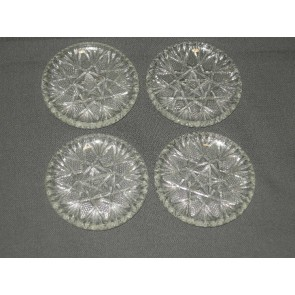 gebruikt glas - kristal petit-fourbordjes