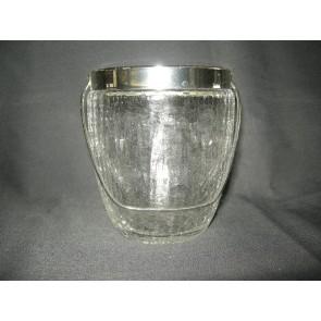 Gebruikt glas - kristal, ijsemmertje