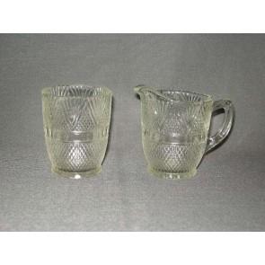 Gebruikt glas / kristal roomstel
