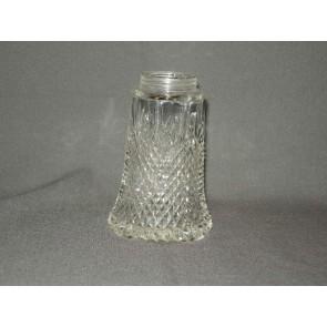 Gebruikt glas - kristal, suikerstrooier zonder dop