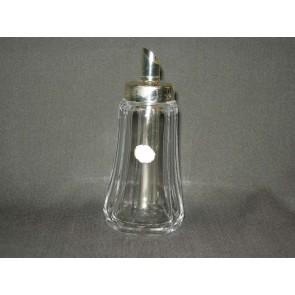 Gebruikt glas / kristal suikerstrooier