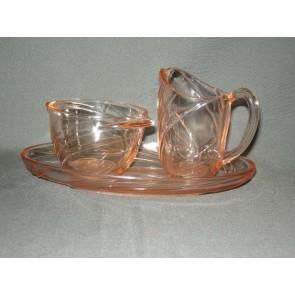Rose glas roomstel