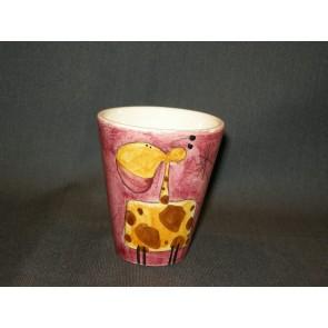 Marchand de Couleurs espressobeker rose giraffe