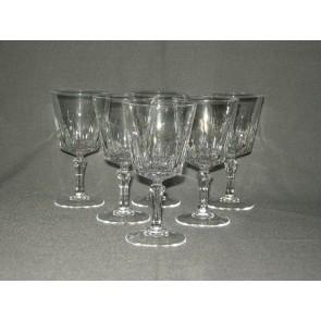 Kristal d'Arques schuine kelk witte wijnglas