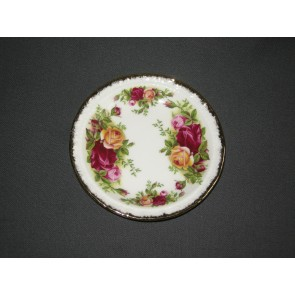 Royal Albert Old Country Rose cake-bordje / petit-four schaaltje