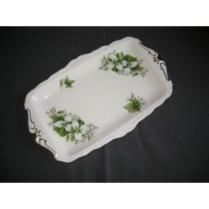 Royal Albert Trillium cakeschaal