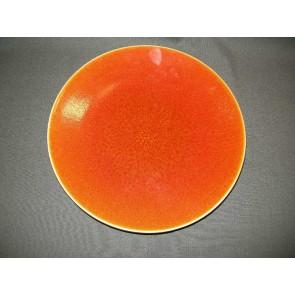 Jars Ceramistes Tourron oranje dinerbord