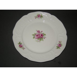 Rosenthal Sanssouci spierwit rose pioenroos dinerbord