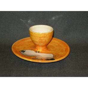 Marchand de Couleurs eierdopje oranje