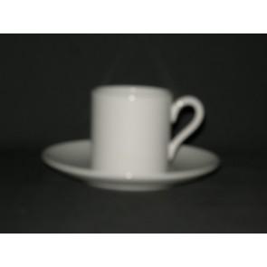 Wedgwood White China espressokop & schotel