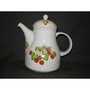 Arzberg aardbeien theepot
